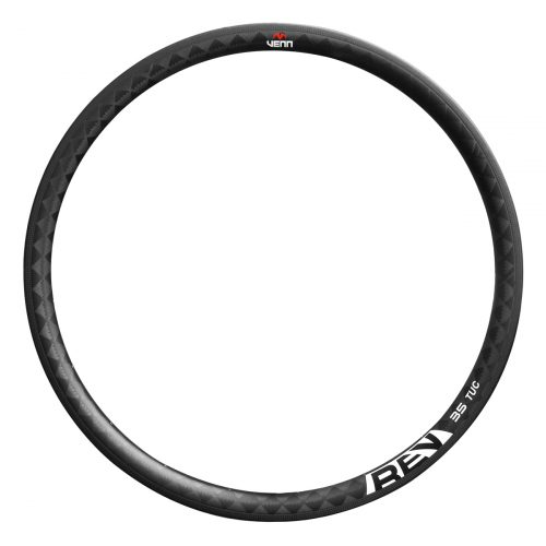 Venn Rev 35 TUC filament wound tubular carbon rim