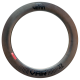 Venn Var 77 TCD filament wound tubeless clincher road disc brake deep section 77mm carbon rim
