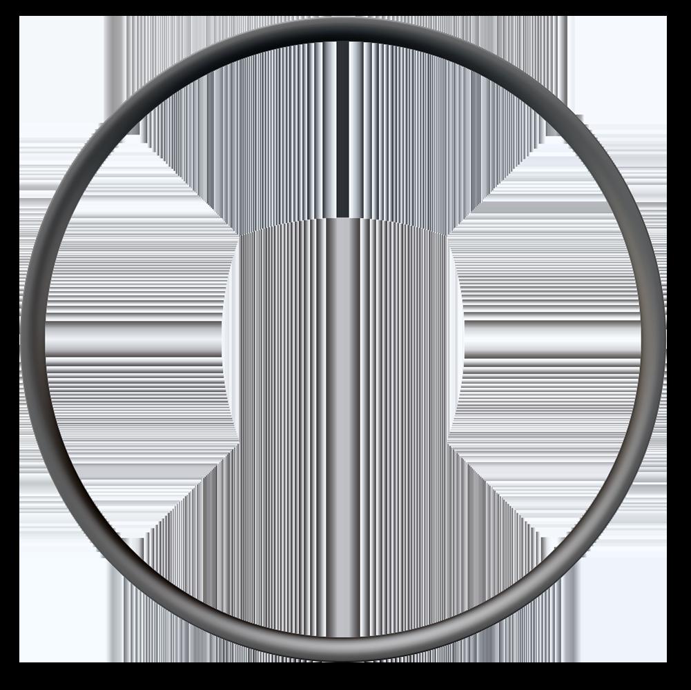"""Cerchio in carbonio gravel Venn 259 THL senza gancio 29 """"/ 700c per bici da corsa gravel e XC"""