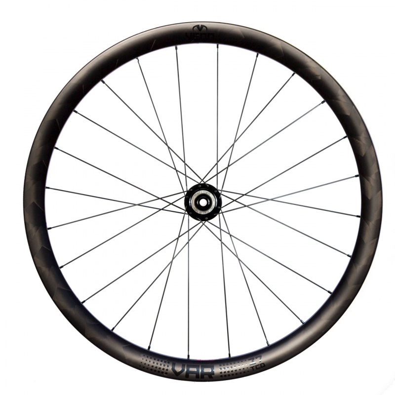 Venn Var 37 TCD filamento enrollado sin cámara remachador bicicleta de freno de disco de carretera ruedas de carbono de 37 mm