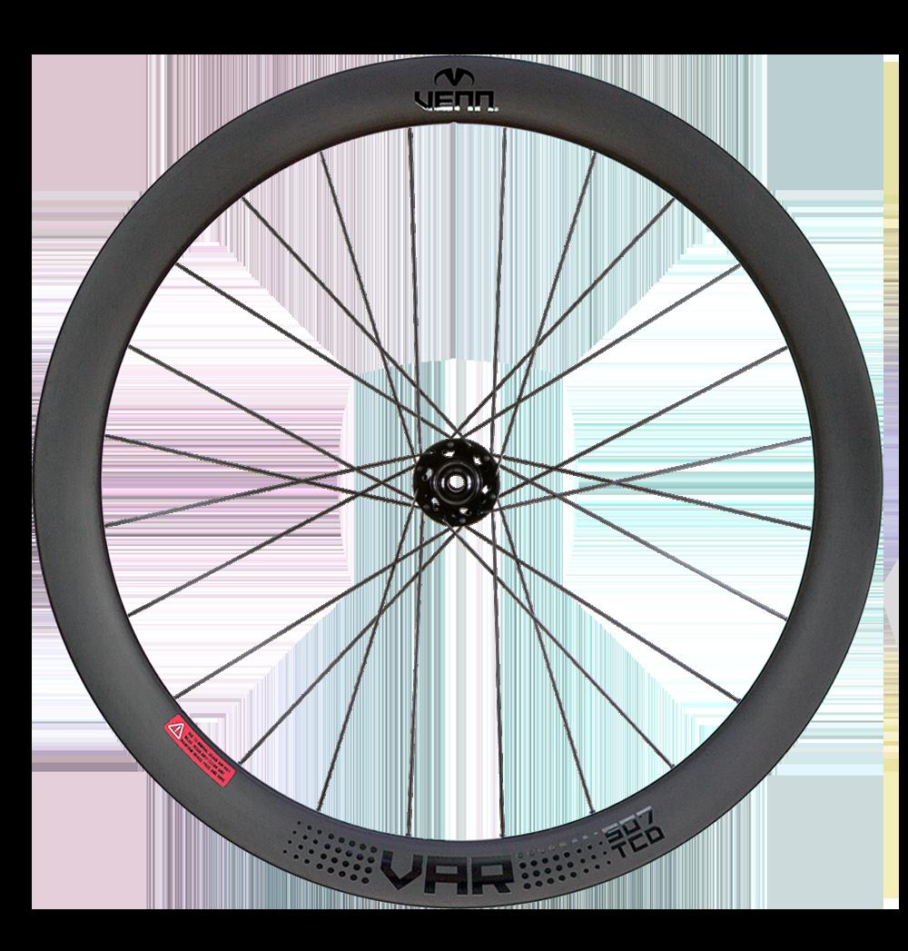Venn Var 507 TCD Filament gewickelt schlauchlos Drahtreifen Straßenscheibe Bremsrad 50mm Carbon Räder