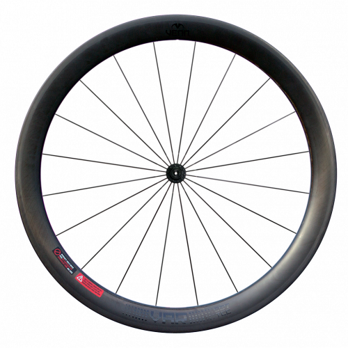 Venn Var 507 TCC filament wound tubeless clincher rim brake road bike 50mm carbon wheels