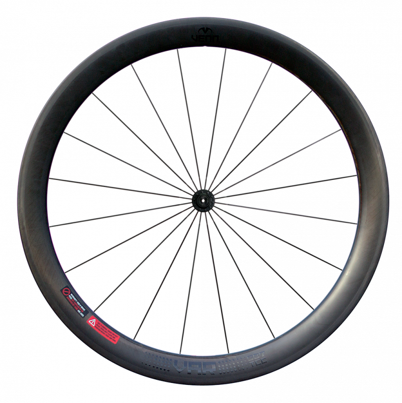 Venn Var 507 TCC filament wound tubeless clincher rim brake road bike 50mm carbon wheels
