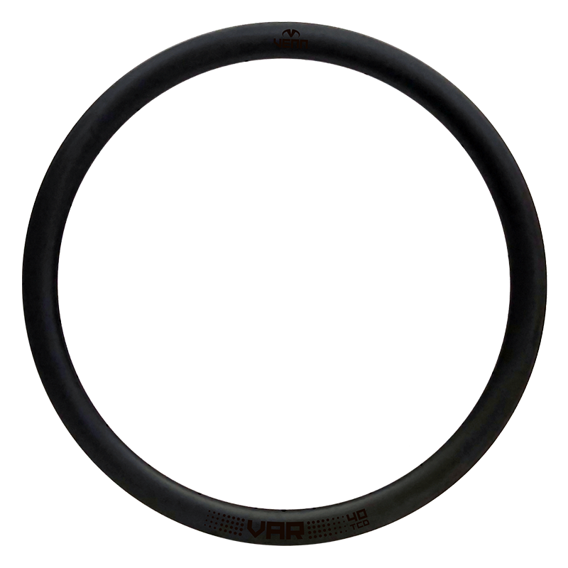Venn Var 40 TCD filament wound tubeless clincher disc brake carbon rim