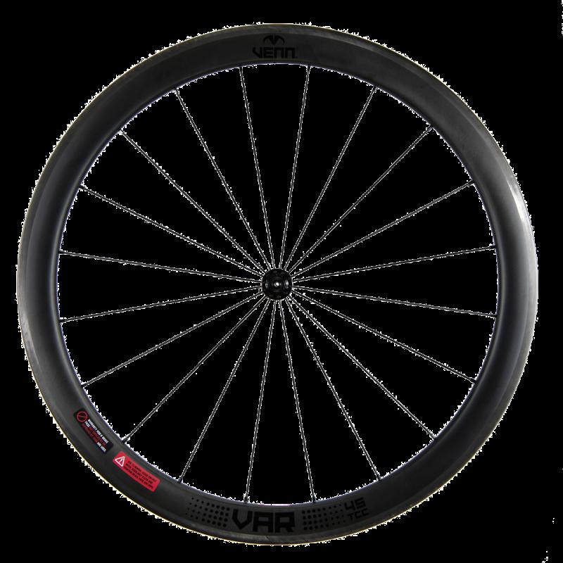 Venn Var 45 TCC filamento enrollado sin cámara remachador llanta freno bicicleta ruedas de carbono de 45 mm